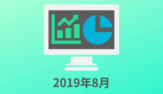 2019年8月 アプリ開発 収入と振り返り