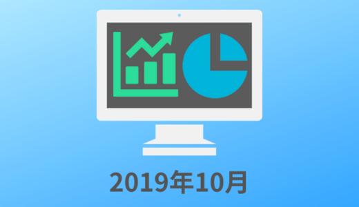 2019年10月 アプリ開発 収入と振り返り